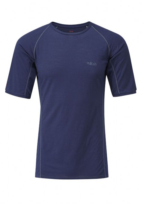 Rab Mens Merino+ Short Sleeve T-Shirt - Lightweight - Warm